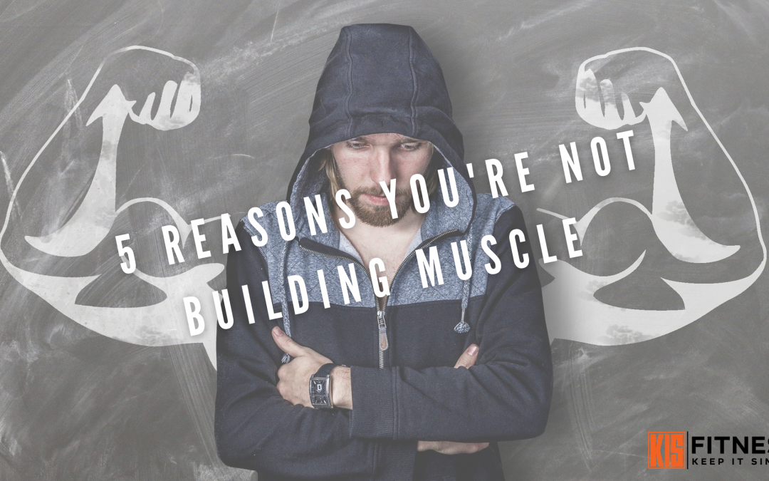5 REASONS YOU'RE NOT BUILDING MUSCLE